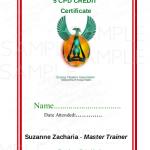 Sample CPD Certificate
